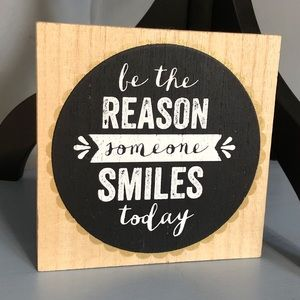 "Hobby Lobby ""Be the reason someone smiles today"""